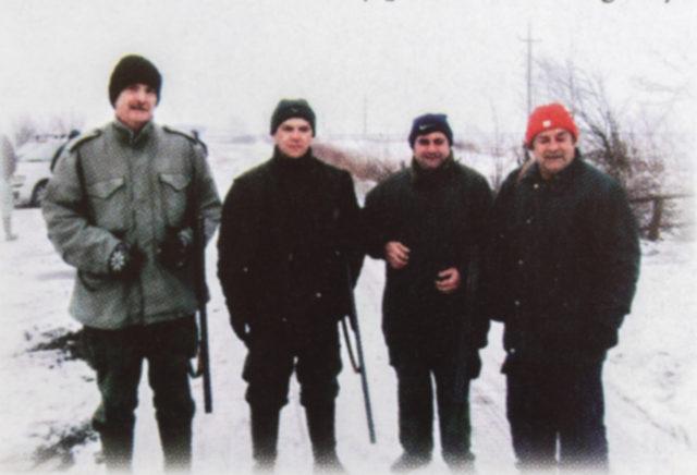 lovci lovačkog društva Stara Pazova