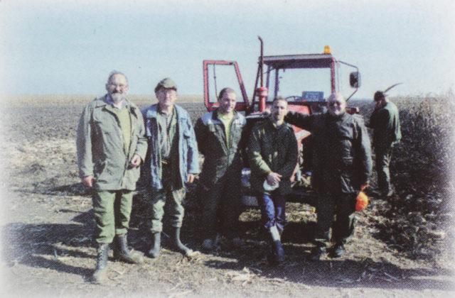 lovci na terenu